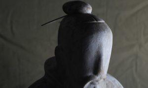博仟雕塑公司创作的孔子石雕