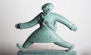 走西口陕西人物铸铜雕塑