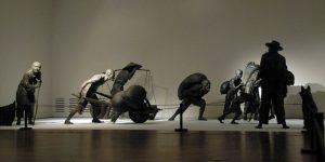 收租院群组雕塑模型标本