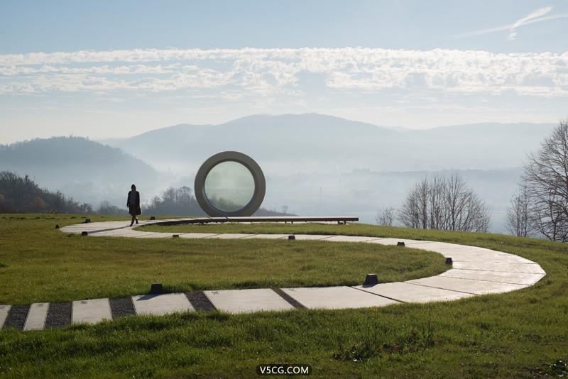 克罗地亚瞄准镜纪念雕塑