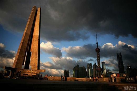 上海大型纪念碑景观雕塑