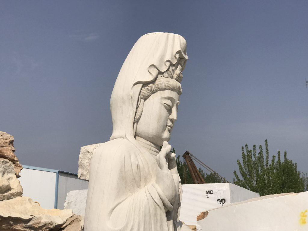 汉白玉佛像雕塑高清图
