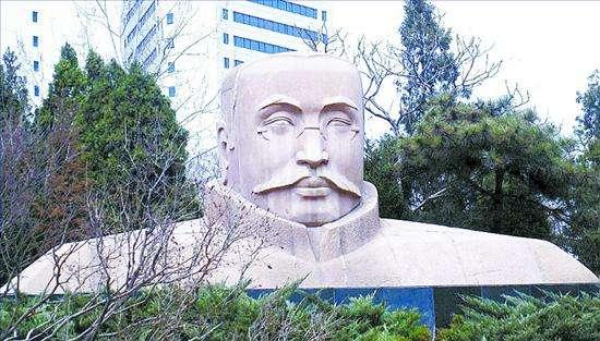 李大钊人物石材革命烈士大型城市雕塑