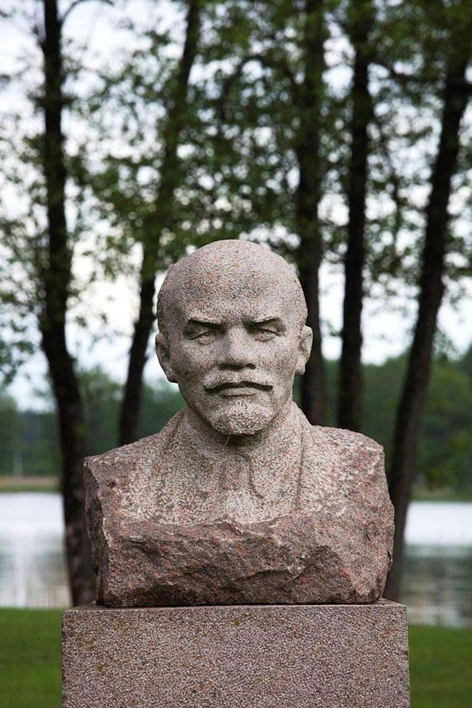 列宁前苏联人物肖像雕塑石材雕塑