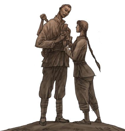 2017最新雕塑手绘设计稿