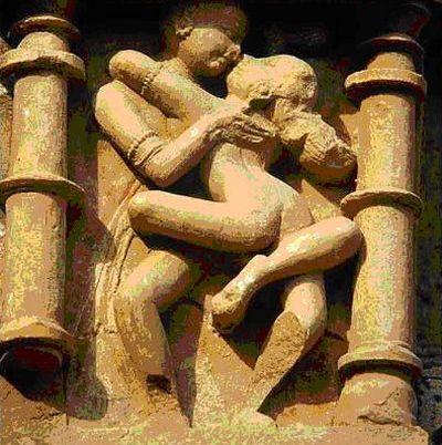 卡朱拉侯的永恒的爱古印度人像雕刻艺术