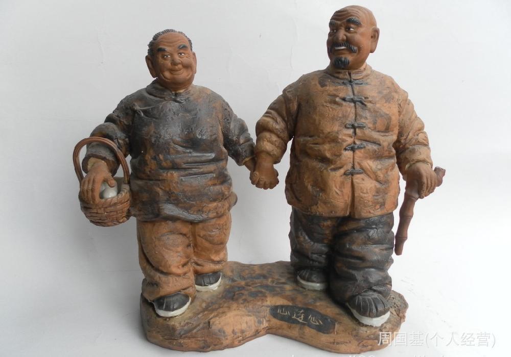 现代情侣接吻人物雕塑欣赏