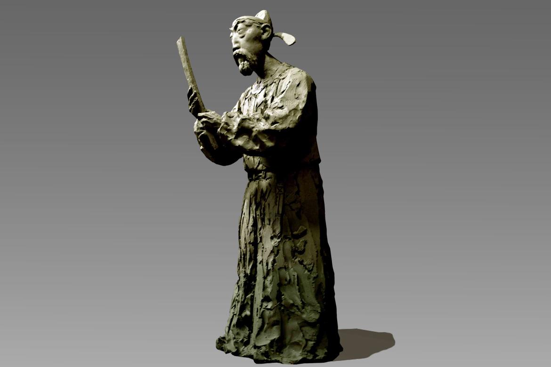 房玄龄标志性古代人物雕塑