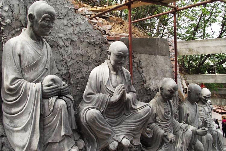 罗汉佛像雕塑水泥雕塑
