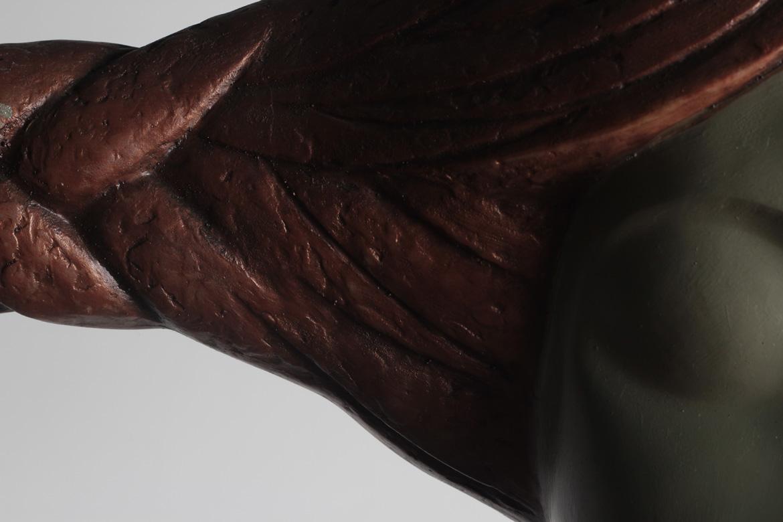 由博仟北京树脂万博体育彩票官网app厂塑造的祈福系列树脂人物万博体育彩票官网app品牌