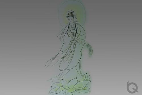 拿着杨柳的杨柳铸铜万博体育彩票官网app观音菩萨