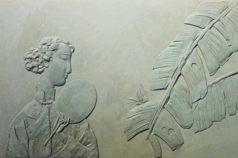 抽象人物浮雕案例欣赏