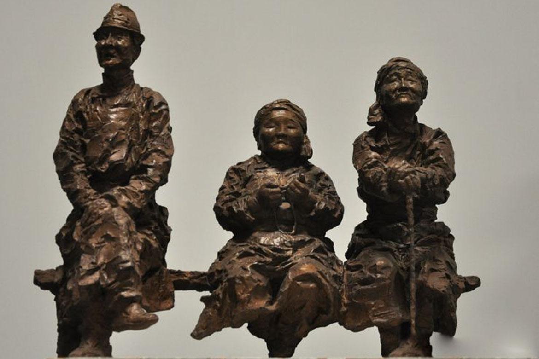 消失的风景西藏雕塑小品博仟雕塑厂