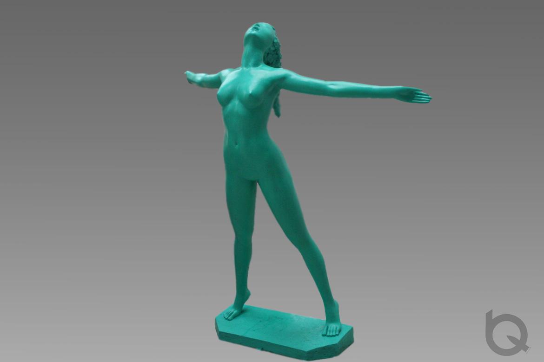 博仟雕塑公司的舒展的人体雕塑欣赏