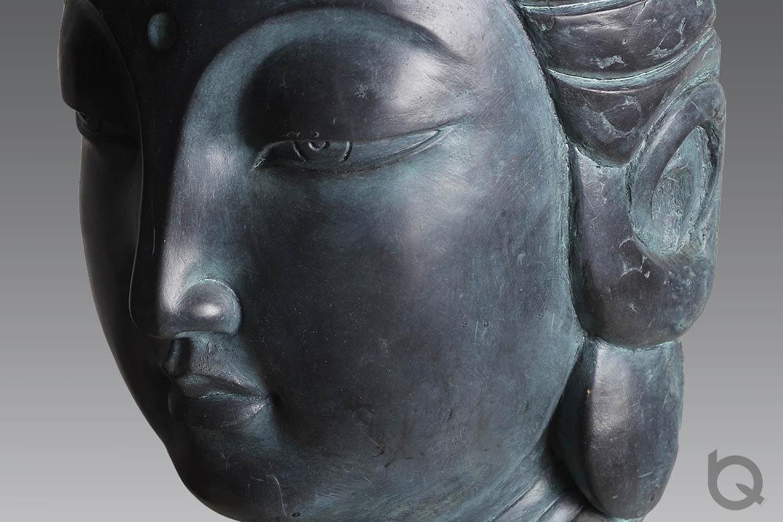 寺庙观音佛像铸铜雕塑