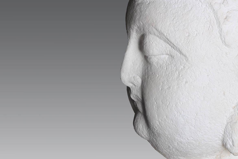 博仟雕塑公司创作的汉白玉神像佛像雕塑
