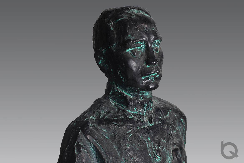 孙中山伟人雕塑铜像肖像