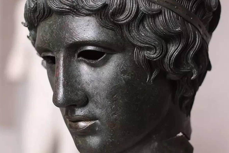 罗马铸铜人物肖像雕塑