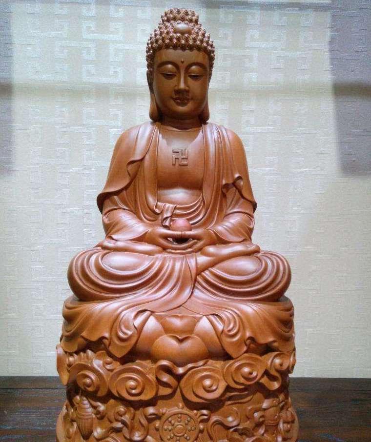 博仟万博体育彩票官网app公司的成品木雕刻佛像图片