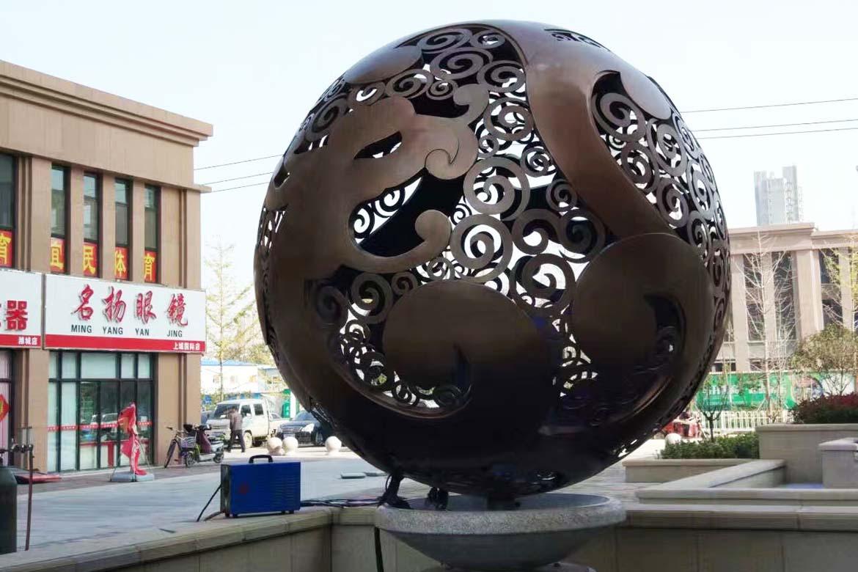 不锈钢空心球镂空球景观万博体育彩票官网app大球