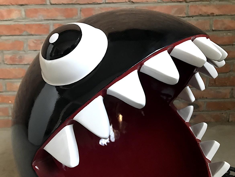 玻璃钢鲨鱼猫窝